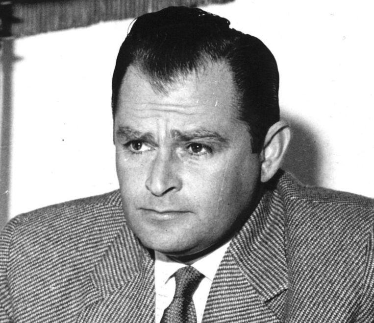 Portret van ex-KNIL-kapitein Westerling uit 1969. Beeld ANP