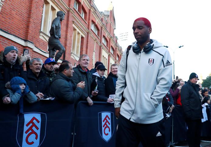 Ryan Babel komt aan bij Craven Cottage, het pittoreske stadion van Fulham.