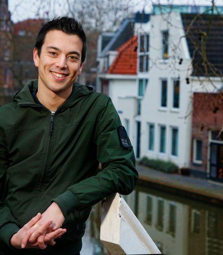 Utrechtse cabaretier Andries Tunru vanavond in finale De Slimste Mens