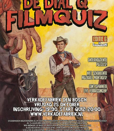 Dial Q Filmquiz in De Verkadefabriek: 'Je hebt al snel een punt'