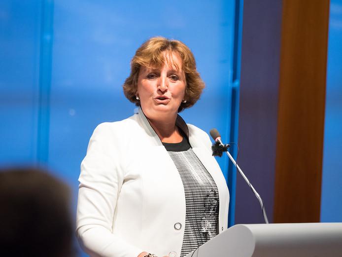 Burgemeester Liesbeth Spies op archieffoto
