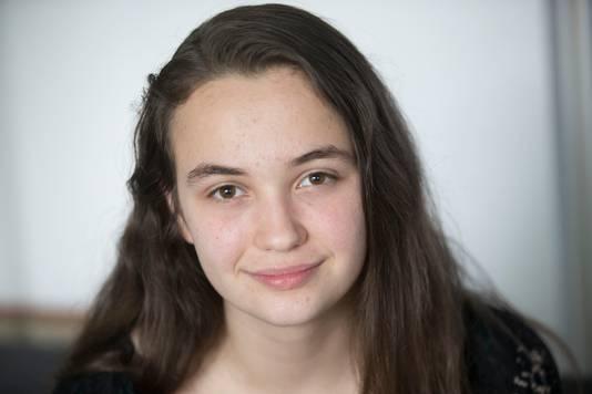 Floortje Heijnen (16) uit Ede.