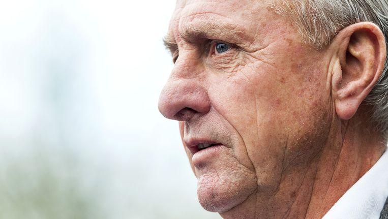 'Met het wegsturen van Cruijff begaat Ajax een historische vergissing.' Beeld anp