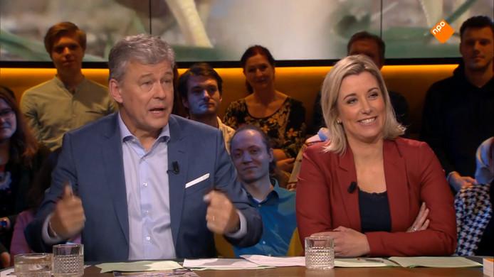 Op1-duo Carrie ten Napel en Charles Groenhuijsen.