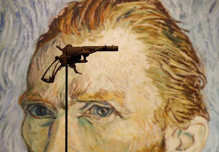 Van Goghs revolver verkocht voor 162.000 euro