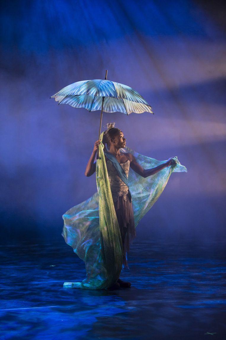 Casso Pancha richtte in 2001 Ballet Black op, uniek in de blanke balletwereld: 'We moeten zwarte dansers witte zwanen laten dansen. Dan raken kinderen geestdriftig.' Beeld Bill Cooper