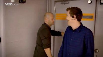 'Dronken' Stan Van Samang en Niels Destadsbader leuken de backstage van 'Belgium's Got Talent' op