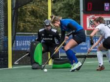 Breda-hockeysters gaan nek-aan-nek met stadsgenoot Push, Tempo-hockeyers geven voorsprong weg