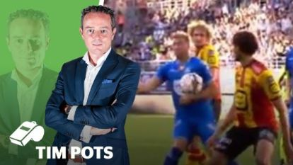 """Onze huisref Tim Pots: """"Goal Depoitre had altijd afgekeurd moeten worden"""""""