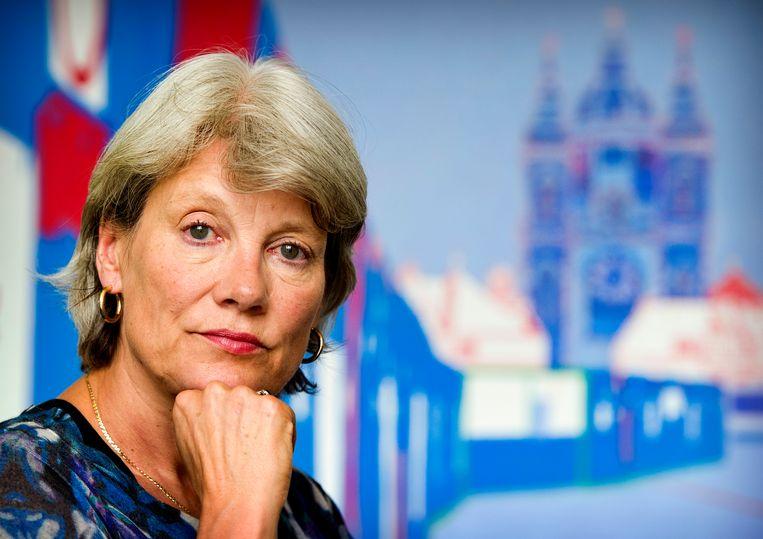 GroenLinks is eindelijk echt klaar voor de macht, vindt voormalig Tweede Kamerlid  Andrée van Es. Beeld ANP KOEN VAN WEEL