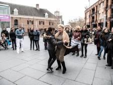 Woonwagenbewoners protesteren in Nijmegen tegen uitsterfbeleid