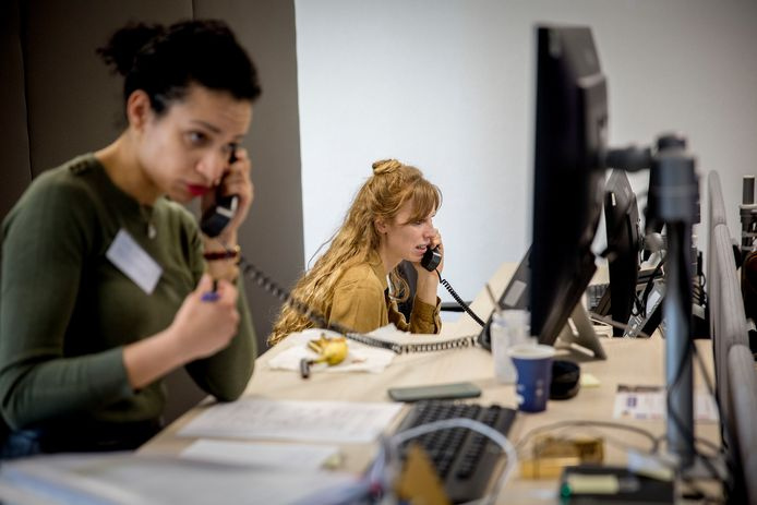 Medewerkers van de GGD in Dordrecht. Foto ter illustratie.