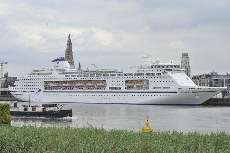 Antwerpen gaat vanaf 2021 liggeld aanrekenen aan cruiseschepen.