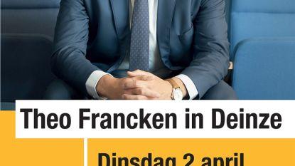 Theo Francken komt op 2 april naar De Rekkelinge