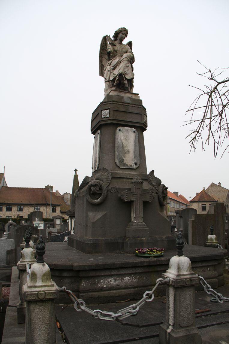 Het graf van Auguste De Ceunynck.