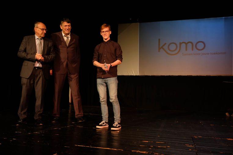 TSM-leerling  Ferre Cottyn ontwierp het logo van KOMO
