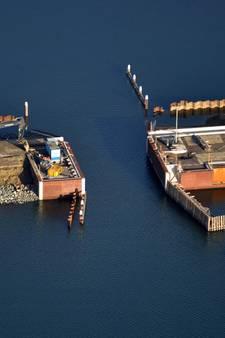 Dam in de haven van Tholen is zo goed als klaar