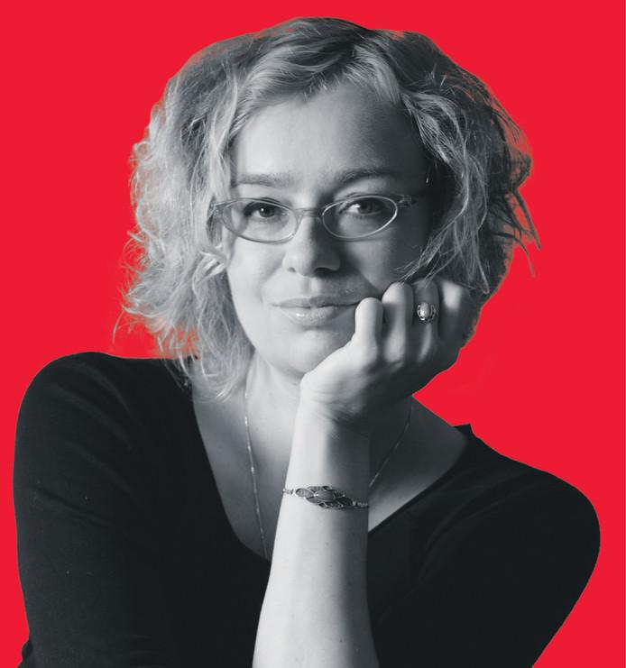 Keke Keukelaar - Vrouwkje Tuinman op rood kosteloos