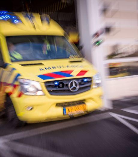 Vijf gewonden bij botsing op de Brouwersdam