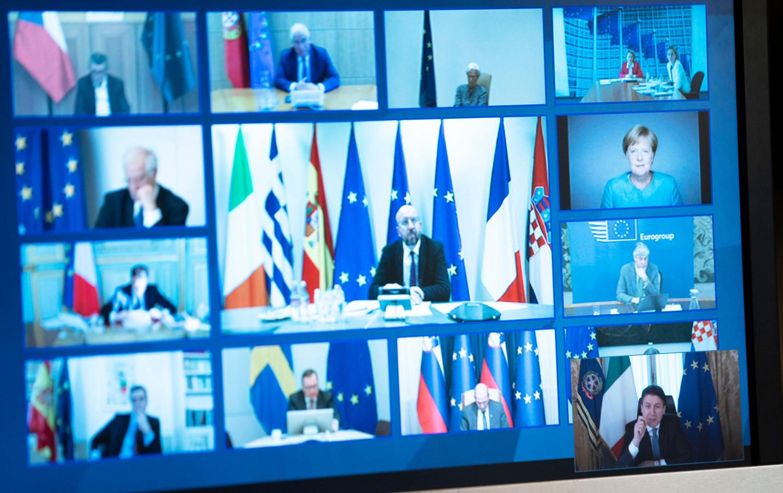 Le sommet européen sur le covid-19 a été organisé en vidéoconférence