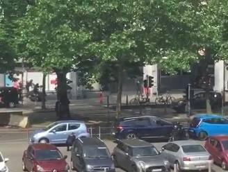 VIDEO: Het moment waarop de politie de schutter in Luik doodschiet
