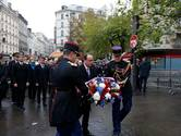 Parijs herdenkt terroristische aanslagen van jaar geleden