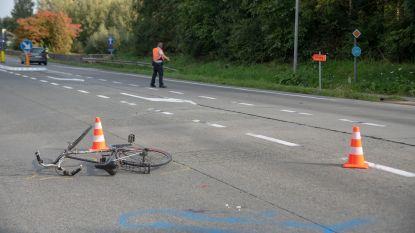 87-jarige fietser in levensgevaar na ongeval