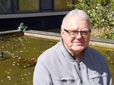 Siervijver zorgcomplex Hardenberg leeggeroofd door vraatzuchtige reiger