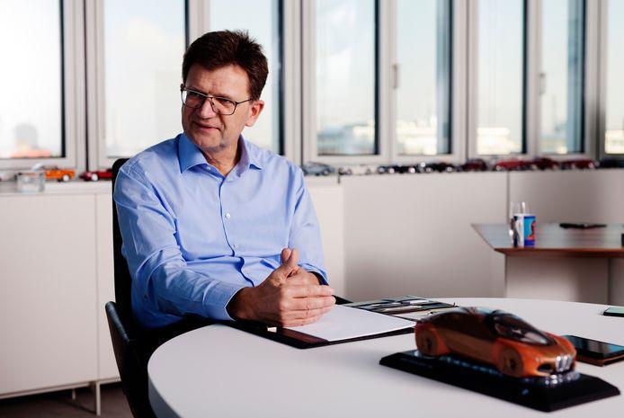 Klaus Frölich is bij BMW verantwoordelijk voor ontwikkeling