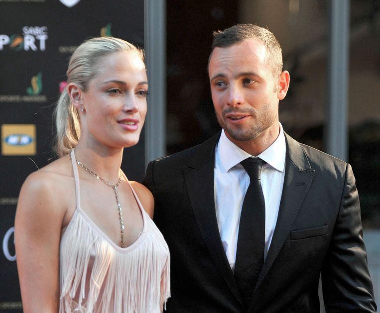 Reeva Steenkamp en Oscar Pistorius.