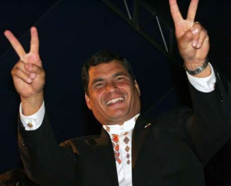 De Colombiaanse rebellengroep Farc zou de Ecuadoraanse president Rafael Correa geholpen hebben de verkiezingen te winnen.