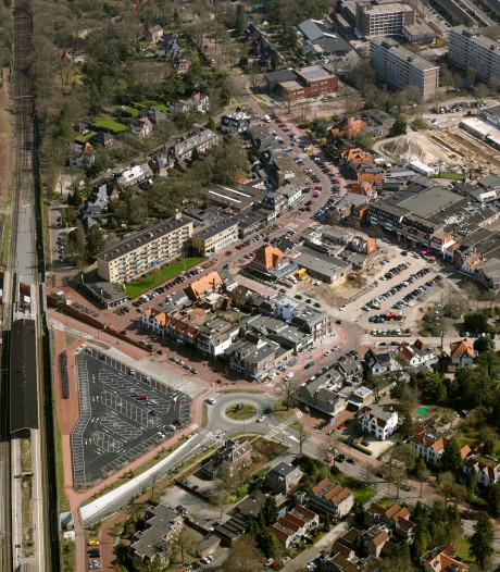 Vernieuwing centrum Bilthoven van bovenaf goed te zien