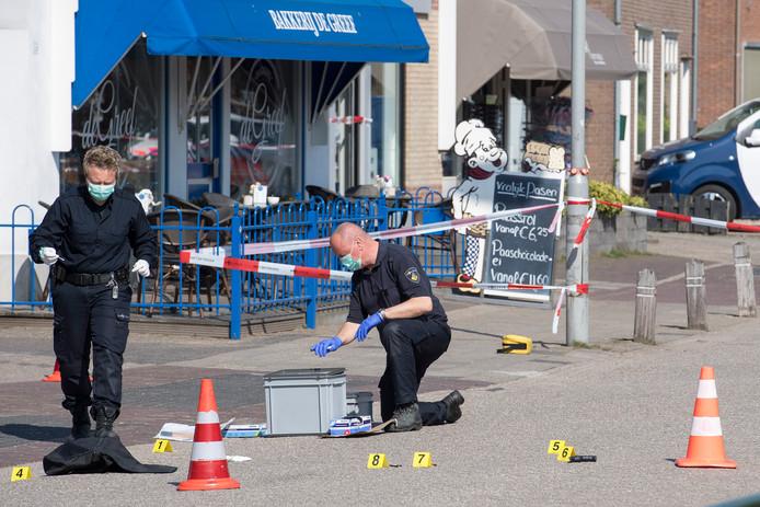 Sporenonderzoek na een gewapende overval op een juwelier in Kesteren.