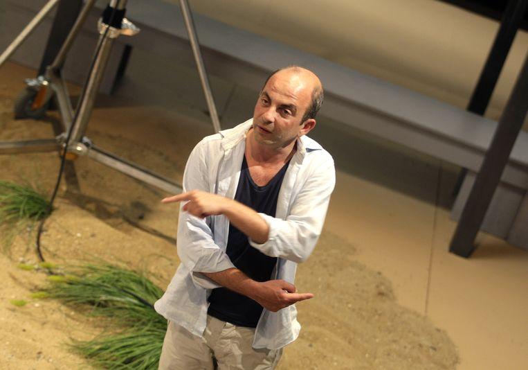 Regisseur Job Gosschalk op de filmset in 2010. Gosschalk gaf toe grenzen te hebben overstreden als hij met acteurs aan scènes werkte. Beeld ANP Kippa