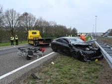 Ongeluk met meerdere voertuigen: A58 van Breda naar Tilburg weer open