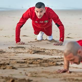Zon, zee, Ziyech: de WK-voorbereidingen van het Marokkaanse elftal zijn gestart