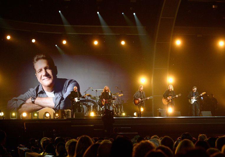 Een optreden ter ere van Glenn Frey. Beeld Getty Images for NARAS