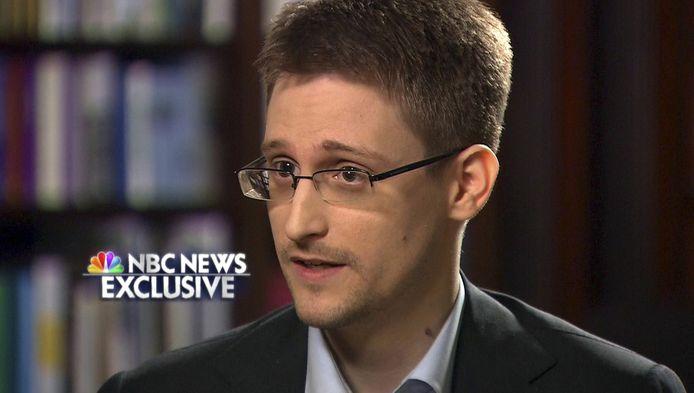 Edward Snowden, tijdens een interview met NBC News.