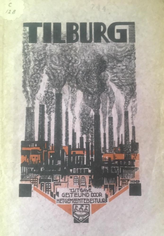 """,,Een dystopische schoorsteenskyline uit de jaren '20"""", zegt Jelmer Visser. Hij duikelde het exemplaar op."""