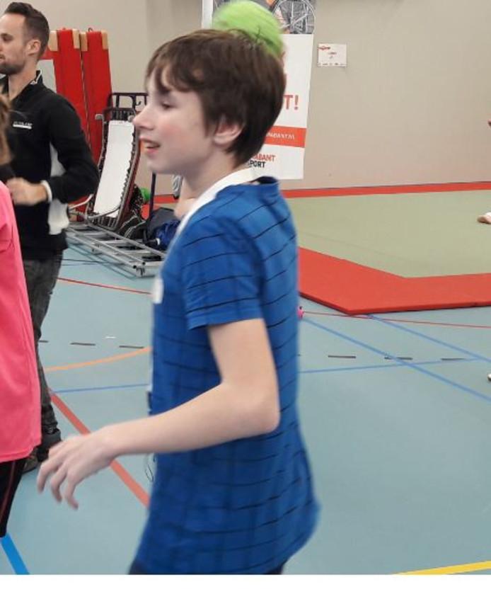 Robin Vermeulen doet mee met streethandbal.