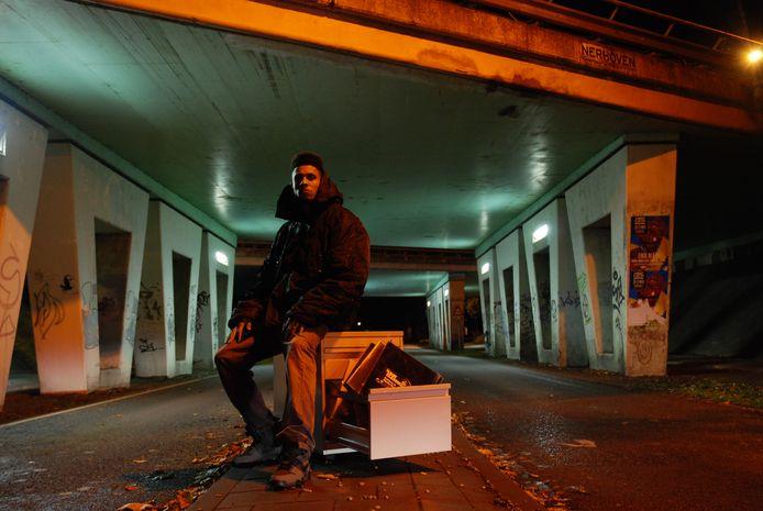 Rapper McGyver uit Gilze. Foto Lindert Paulussen