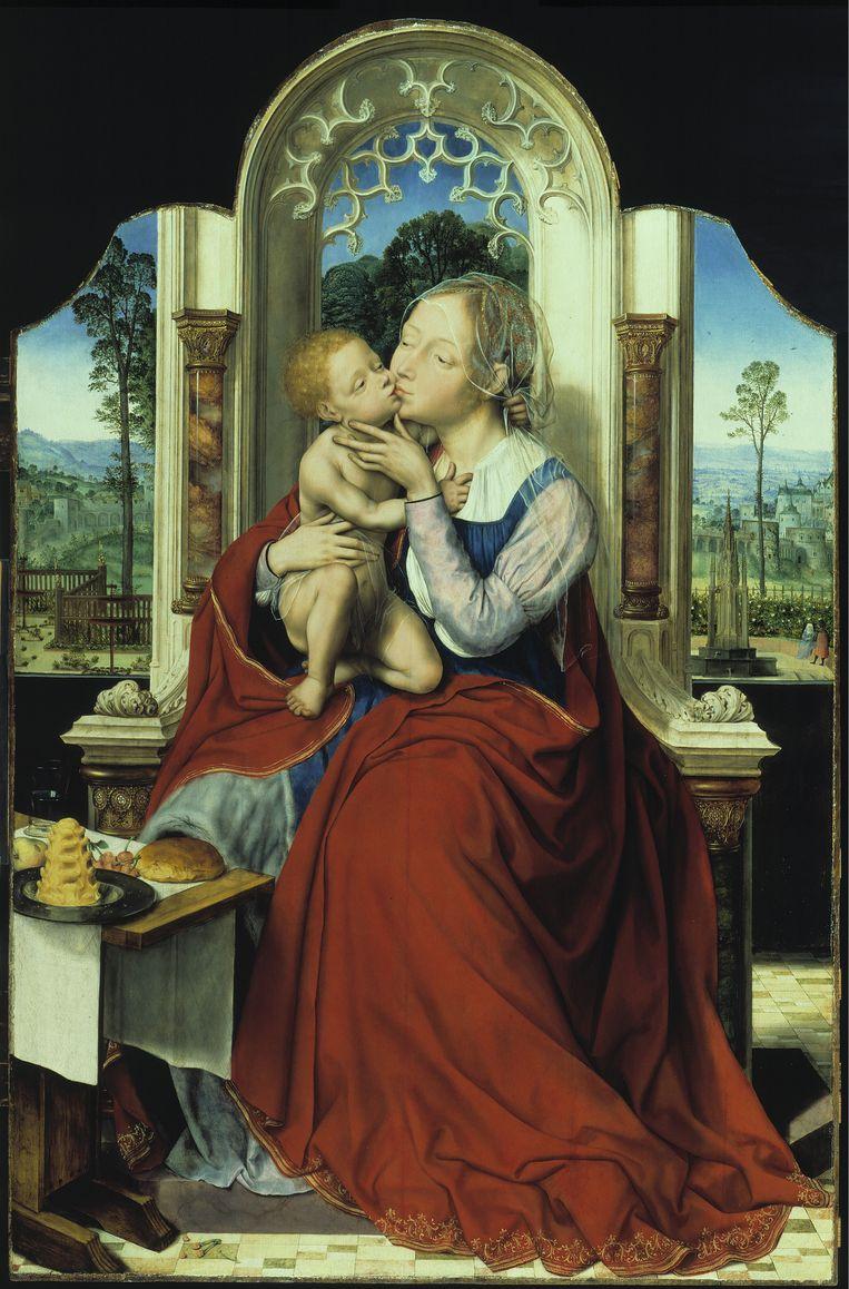 Quinten Massys De tronende Madonna circa 1525, Olieverf op paneel, 135 x 90 cm Gemäldegalerie, Staatliche Museen zu Berlin Beeld Gemäldegalerie, SMB / Jörg P. Anders