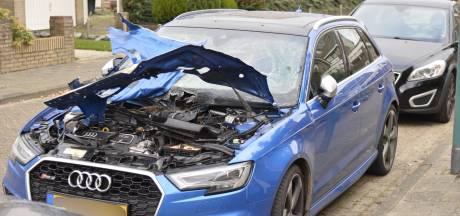 Dure auto van Bianca vernield door zwaar vuurwerk: 'Rechtop in bed na enorme knal'