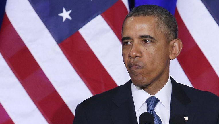 Amerikaanse president Barack Obama. Beeld getty