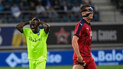 AA Gent werkt kansen in slot niet af en moet in play-offronde Europa League tevreden zijn met scoreloze draw tegen Bordeaux