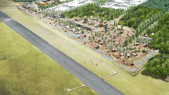 De bedoeling van het huidige plan is om een woonwijk te realiseren met 229 dure en nog duurdere woningen.