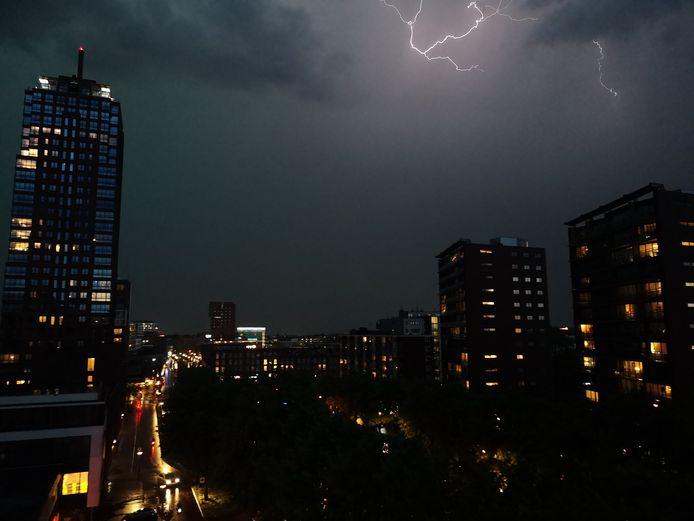 Noodweer boven Twente