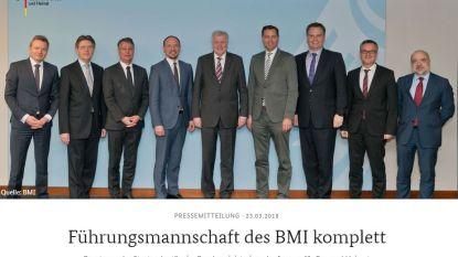 Bakken kritiek op nieuwe Duitse minister van 'Heimat': geen enkele vrouw aan top kabinet