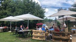 Lekker lokaal: de vakantie op je bord in Café d' été in Hoegaarden