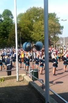 Schutters uit heel Montferland vieren feest in Didam